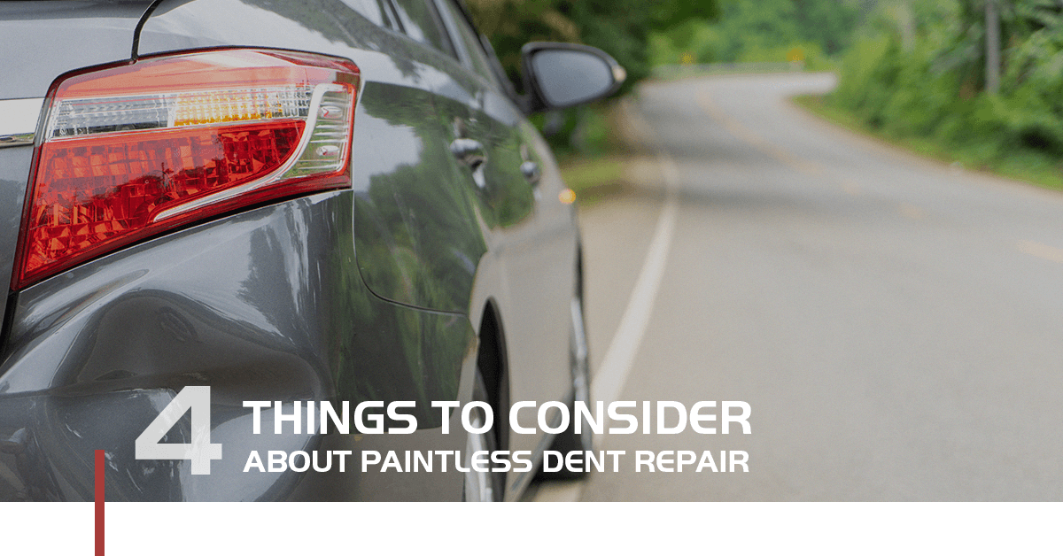 4 Things To Consider About Paintless Dent Repair